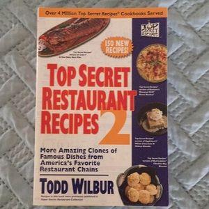 Top Secret Restaurant Recipes 2 Book